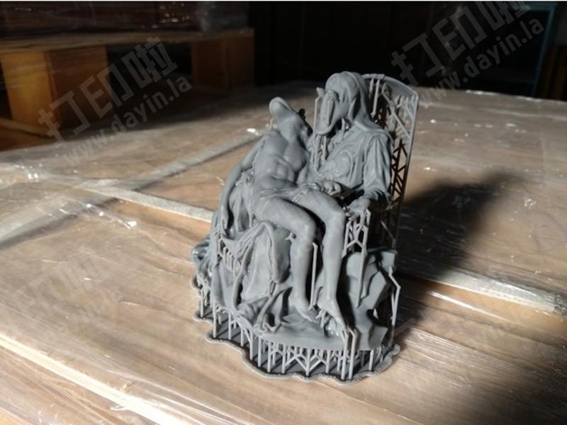 艺术雕塑STL文件下载-3d打印模型-打印啦3凯蒂塔性感瑙