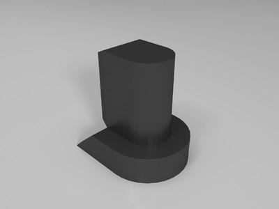 星爵枪打印文件-3d打印模型