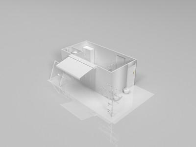 温馨小屋-3d打印模型
