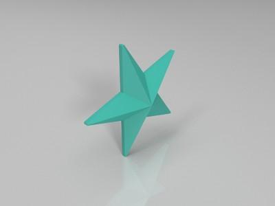 红星勋章-3d打印模型