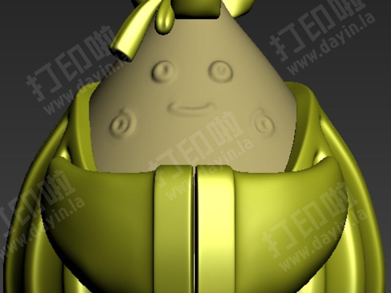 粽子-3d打印模型