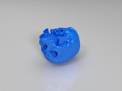 头盖骨-3d打印模型