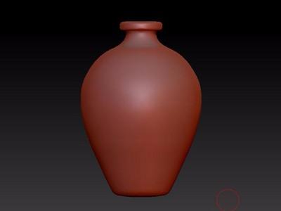 花瓶-3d打印模型