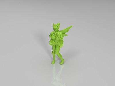 示爱女孩-3d打印模型