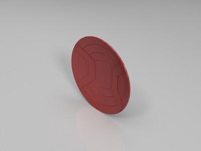 美队盾牌-3d打印模型