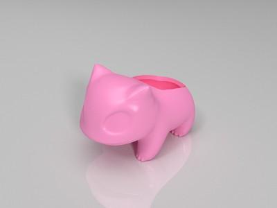 妙蛙种子 修复-3d打印模型