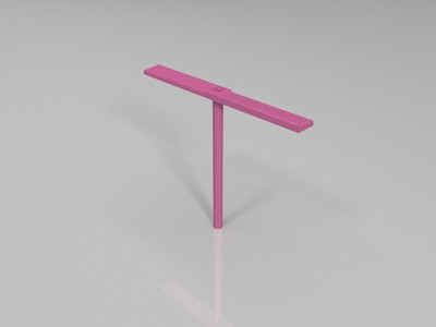 竹蜻蜓-3d打印模型