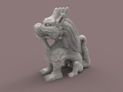 望天吼-3d打印模型