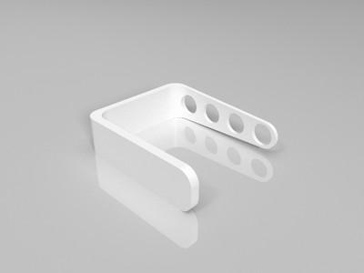 牙刷挂钩-3d打印模型