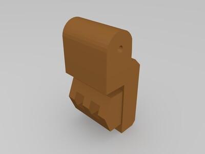战神金刚 百兽王 双臂-3d打印模型
