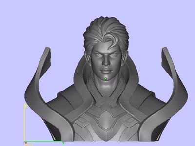 王者荣耀-凯-3d打印模型