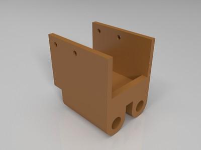 电机的壳-3d打印模型