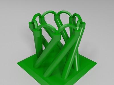 旋转花园-3d打印模型