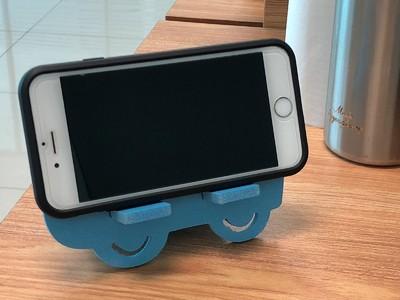 拼插汽车手机架-3d打印模型