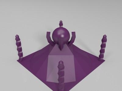 瓶子-3d打印模型