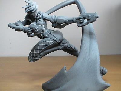 猎空-3d打印模型