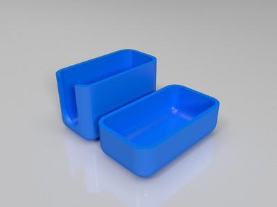 带盖的牙刷盒子-3d打印模型