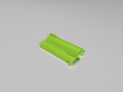 玩具枪用气缸活塞-3d打印模型