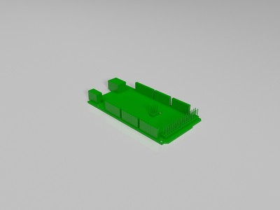arduino 设备模型-3d打印模型