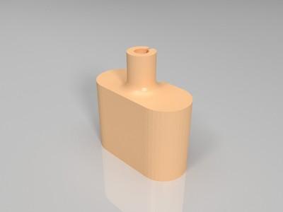 手机type-c数据线保护头-3d打印模型