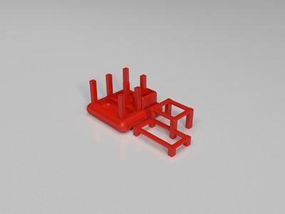 创意笔筒-3d打印模型