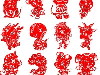 国家宝藏之12生肖剪纸 2-3d打印模型