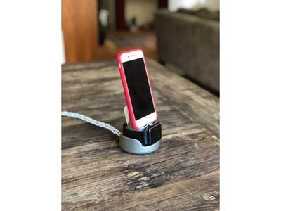 苹果三合一充电座-3d打印模型