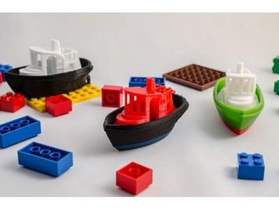 船—— 可拔插-3d打印模型