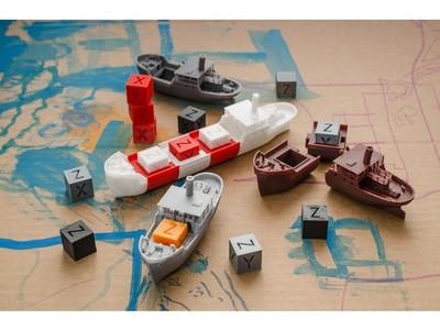 模块化船-3d打印模型
