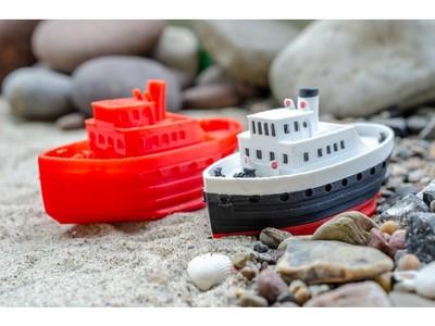 小客船-3d打印模型