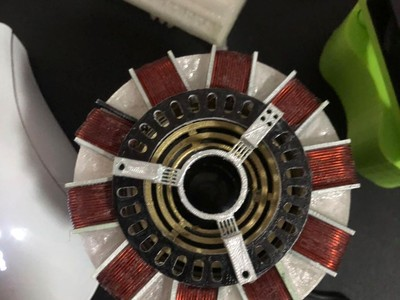 钢铁侠方舟反应炉音响-3d打印模型