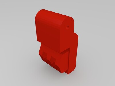 战神金刚 百兽王 双腿-3d打印模型
