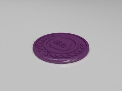 链克wkc币2-3d打印模型