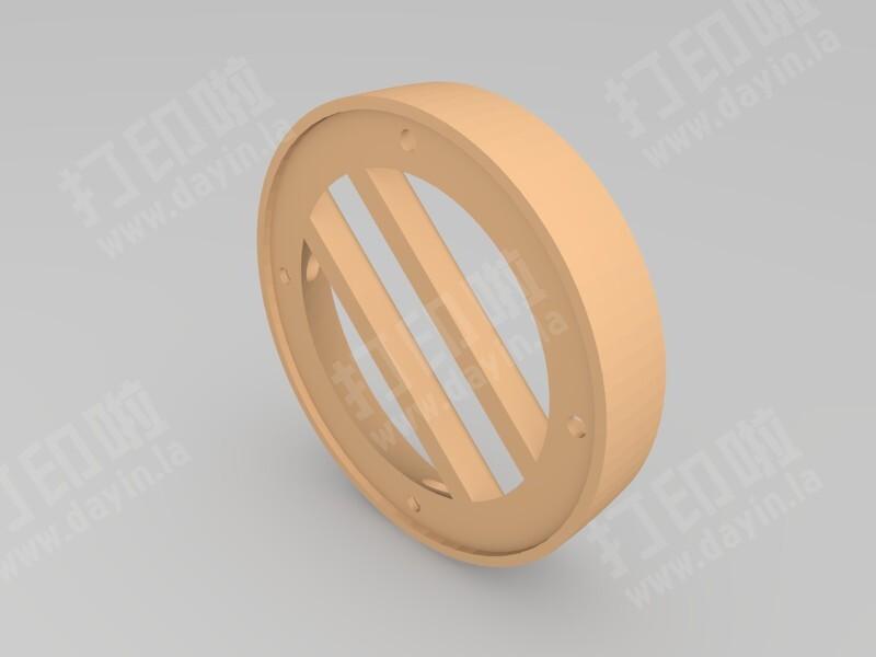 汽车高音喇叭壳-3d打印模型