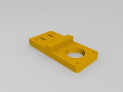 马达支架-3d打印模型