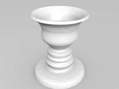 鲁宾杯-3d打印模型