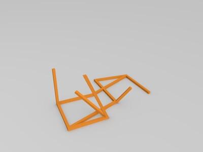 三维立方体-3d打印模型