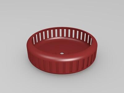 仓鼠跑步机、跑轮-3d打印模型