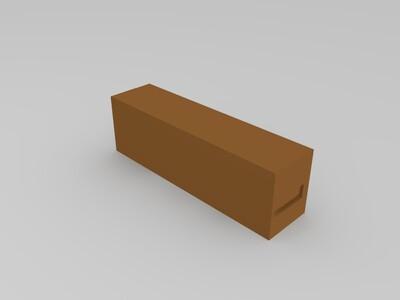 18650充电底座-3d打印模型