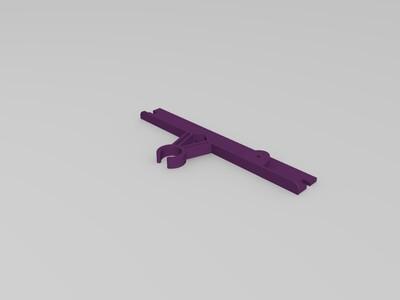打印頭拖線架-3d打印模型
