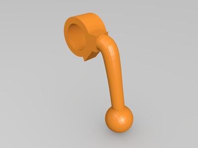 坚峰 98K 拉栓 -3d打印模型