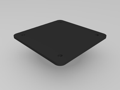 PHILIPS274E显示屏支架-3d打印模型