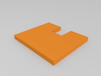 皮卡丘手机支架-3d打印模型