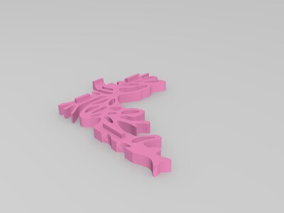 相框-3d打印模型