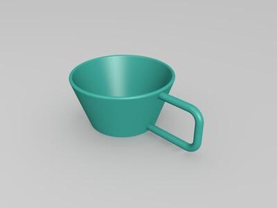 茶杯-3d打印模型