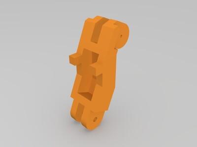 王者荣耀之机械杯托,可动-3d打印模型