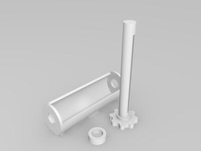 挤牙膏-3d打印模型