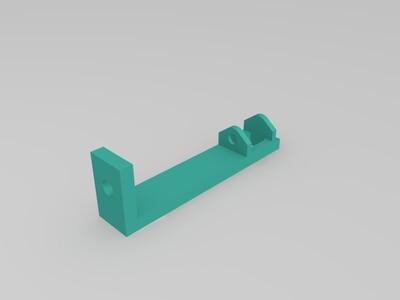 Solidoodle电缆链-辅助架 酷酷的灰-3d打印模型