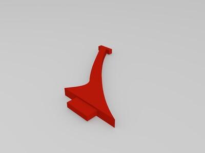 飞机模型-3d打印模型