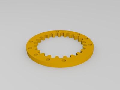 齿圈齿轮-3d打印模型